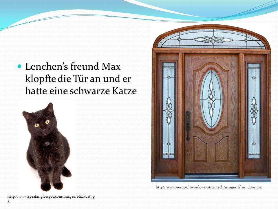 Lenchens freund Max klopfte die Tür an und er hatte eine schwarze Katze http://www.eurotechwindows.ca/trutech/images/fiber_door.jpg http://www.speakin