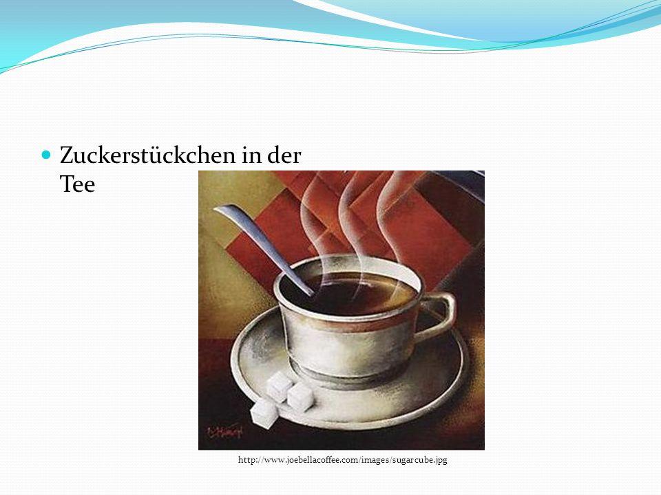 Zuckerstückchen in der Tee http://www.joebellacoffee.com/images/sugarcube.jpg