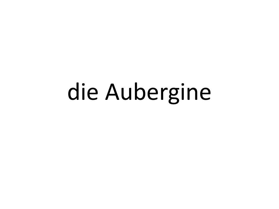 die Aubergine