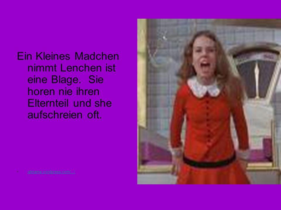 Ein Kleines Madchen nimmt Lenchen ist eine Blage. Sie horen nie ihren Elternteil und she aufschreien oft. qtmama.wordpress.com/.../