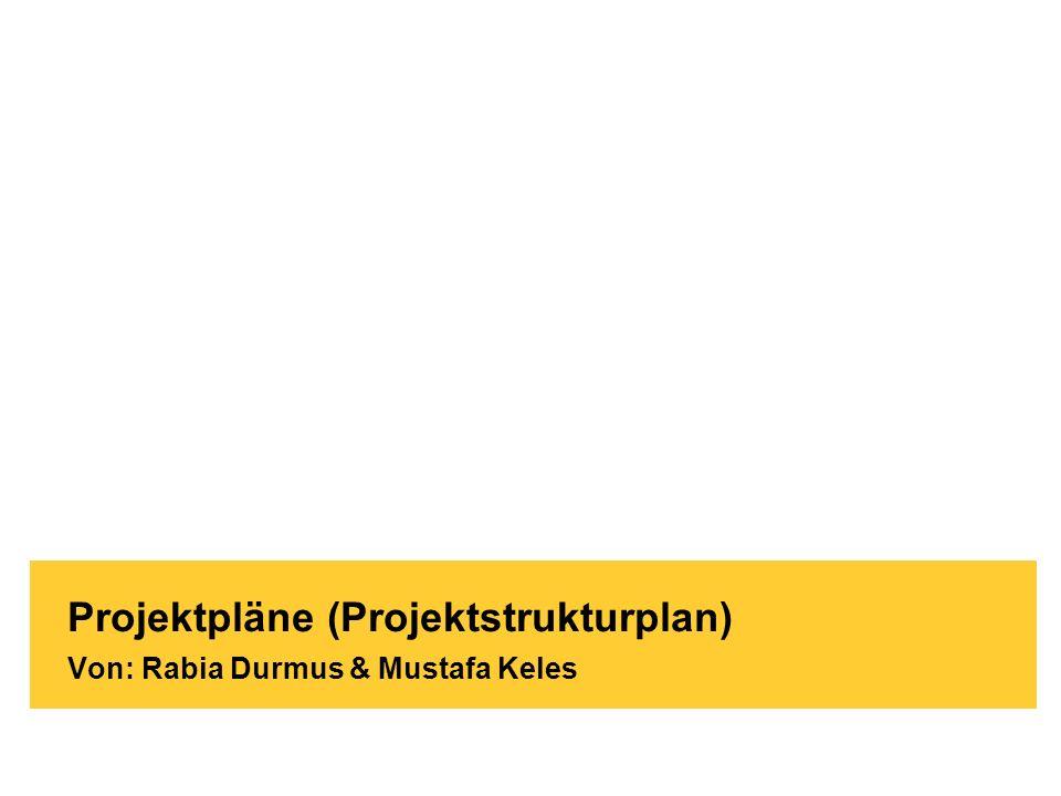 Brand-Bam HG93 - Witschaftsinformatik Köln / 03.12.2009 Projektpläne (Projektstrukturplan) Von: Rabia Durmus & Mustafa Keles
