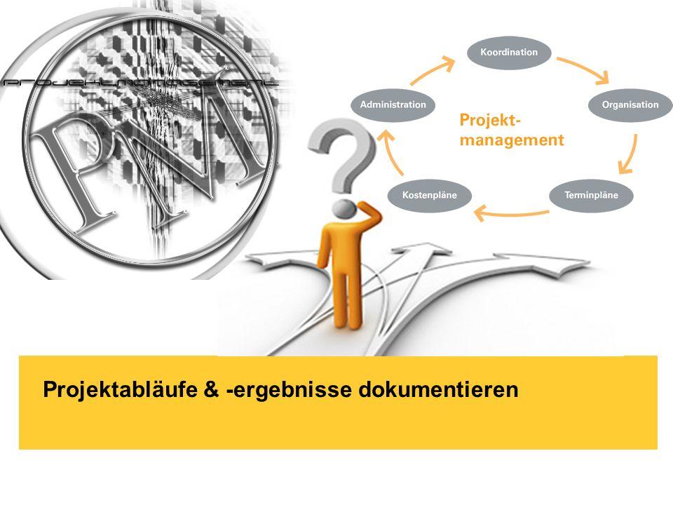 Brand-Bam HG93 - Witschaftsinformatik Köln / 03.12.2009 Projektabläufe & -ergebnisse dokumentieren