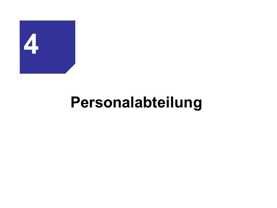 Personalabteilung 4