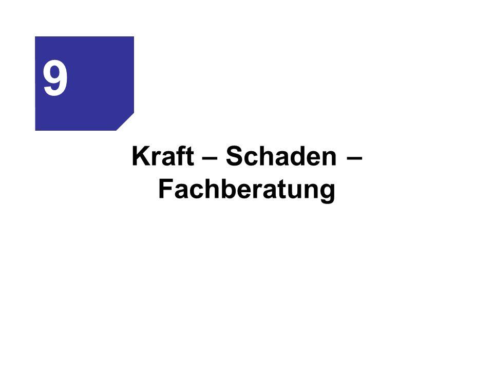 Kraft – Schaden – Fachberatung 9