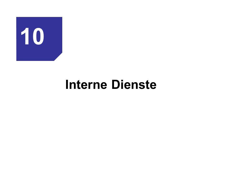 Interne Dienste 10