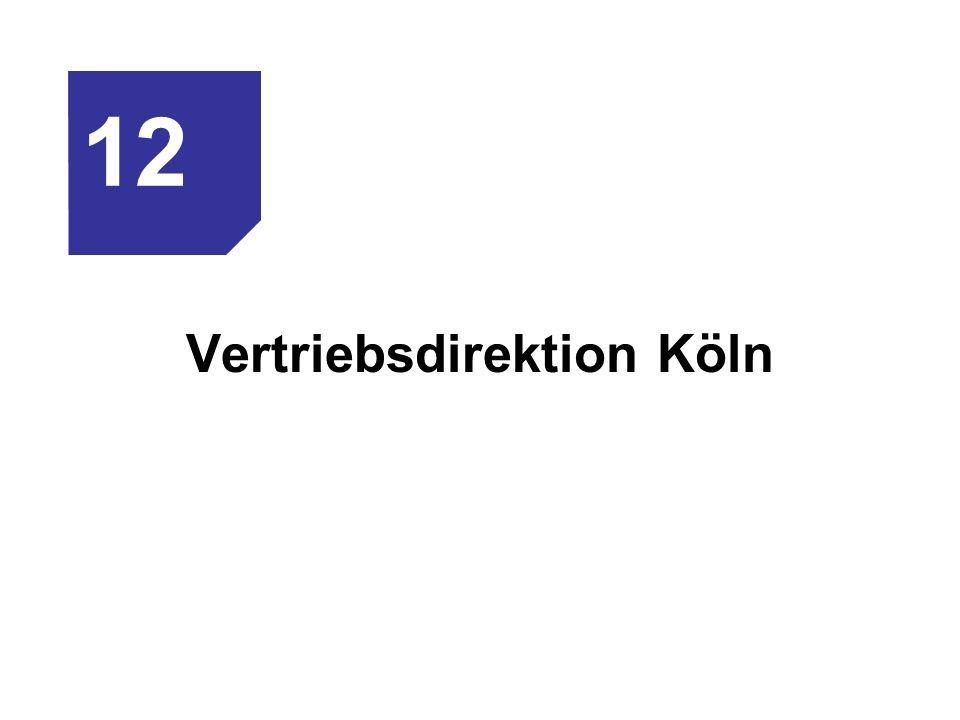 Vertriebsdirektion Köln 12