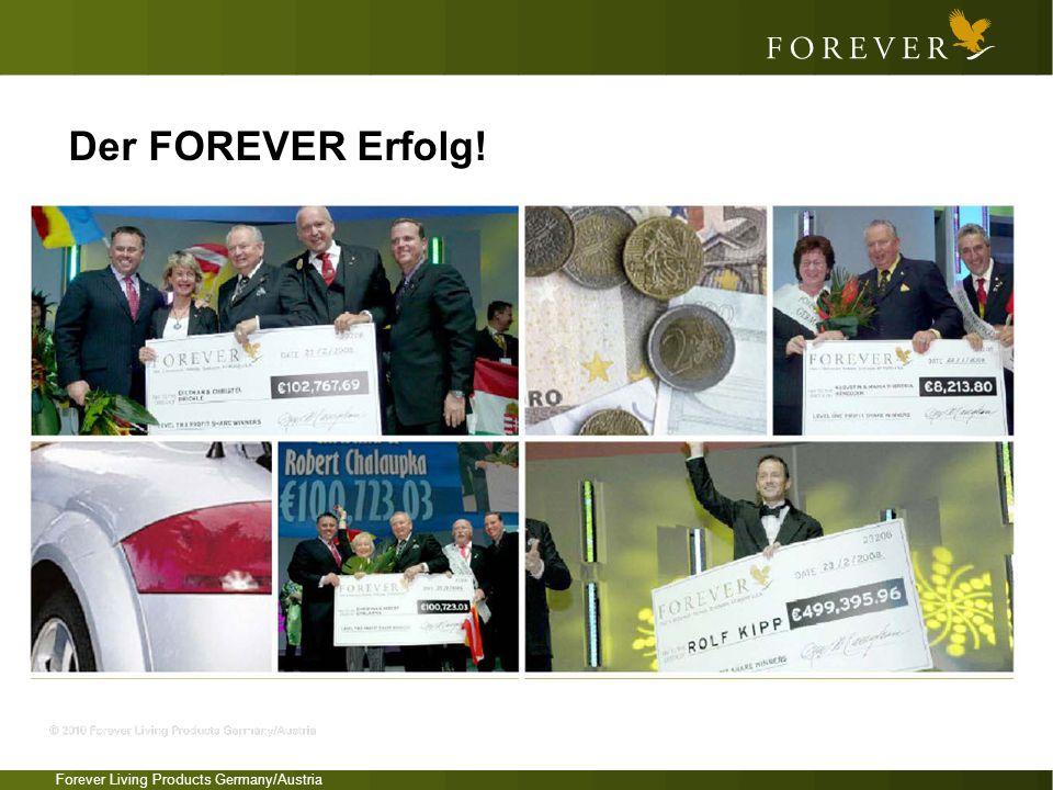 Forever Living Products Germany/Austria Der FOREVER Erfolg!
