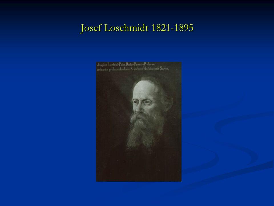 Josef Loschmidt 1821-1895