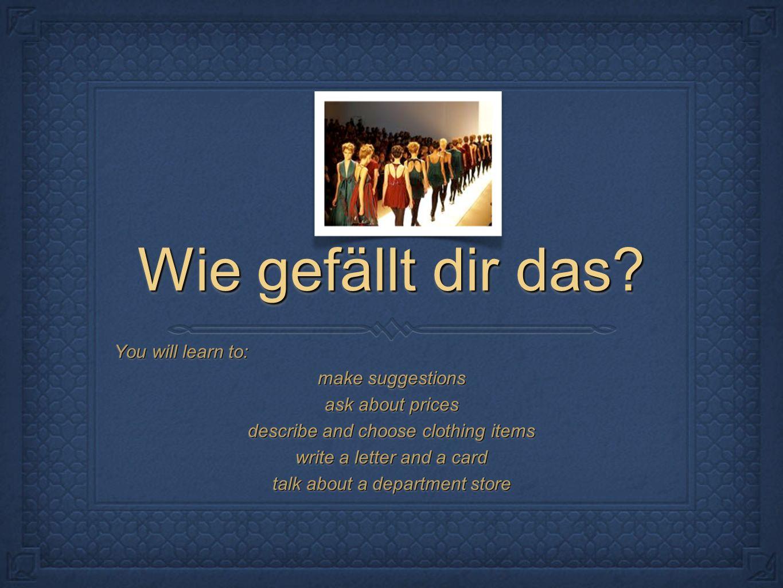 der Stinger Write 5 sentences using modal verbs and food.