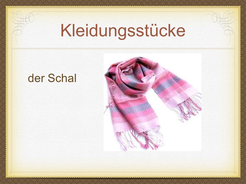 Kleidungsstücke der Schal
