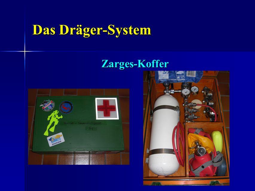 Das Dräger-System Das Dräger-System Zarges-Koffer