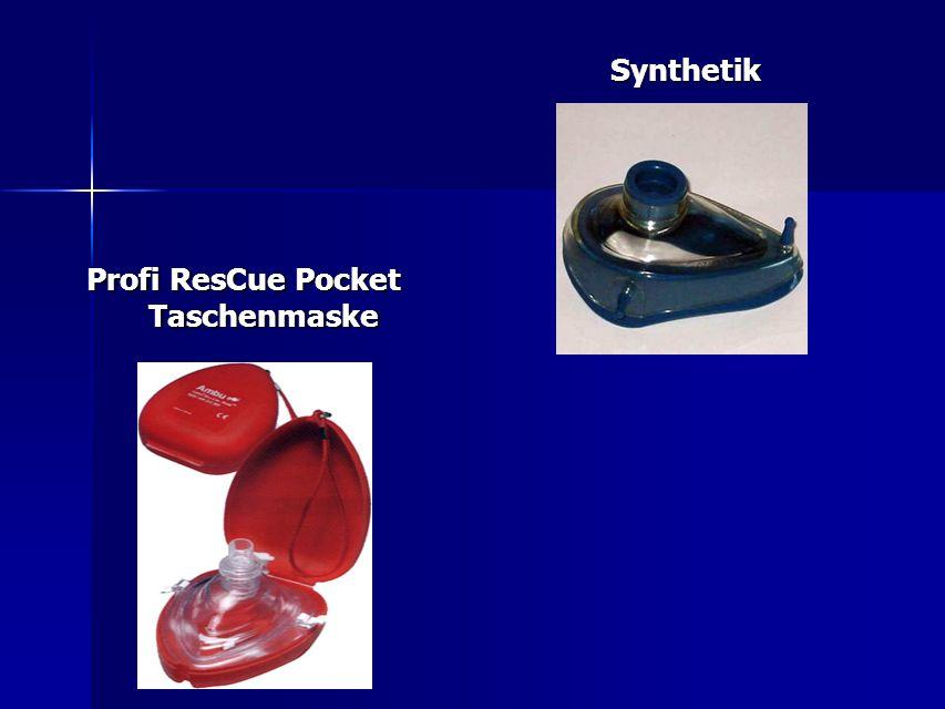 Profi ResCue Pocket Taschenmaske Synthetik