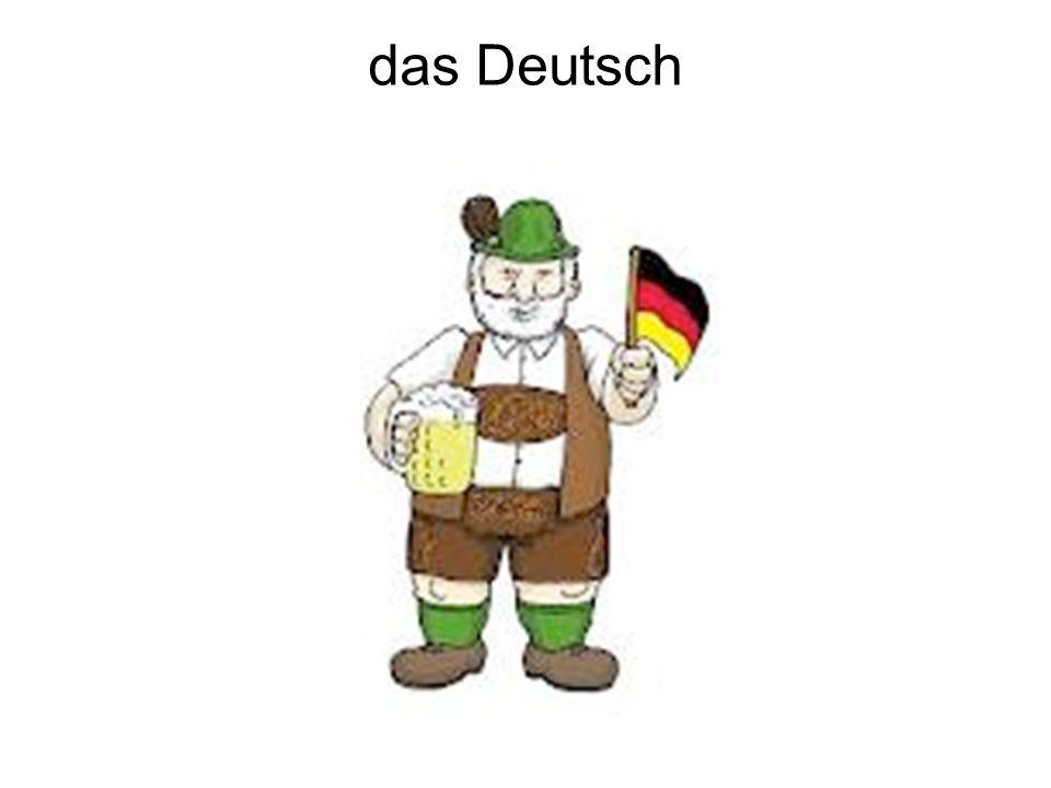 das Deutsch