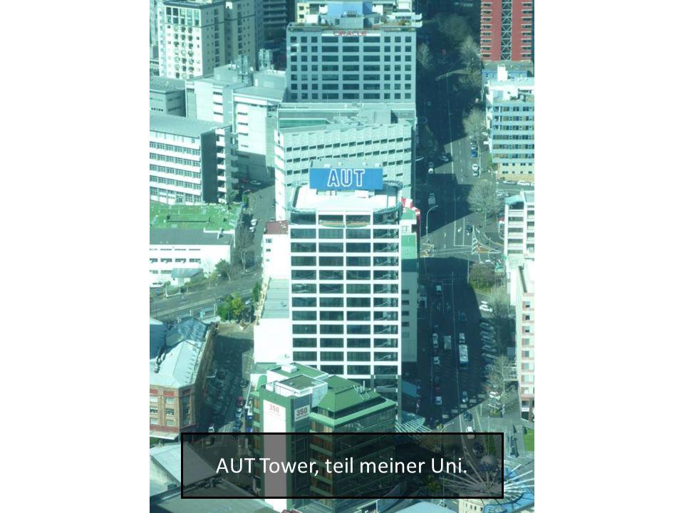 AUT Tower, teil meiner Uni.
