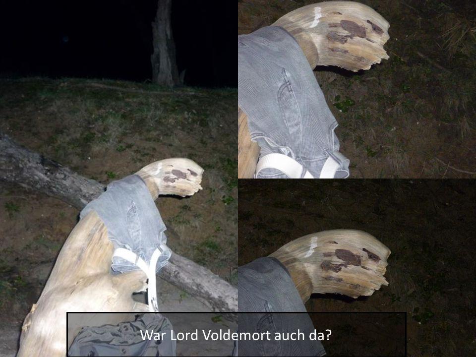 War Lord Voldemort auch da?