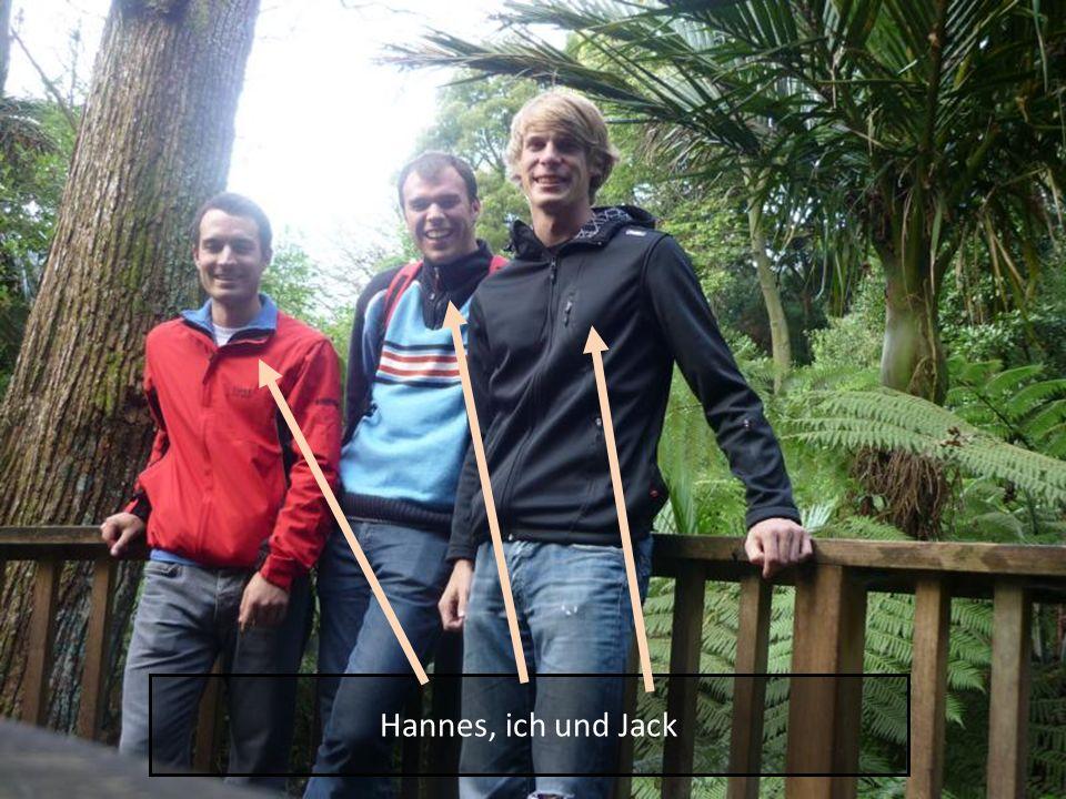 Hannes, ich und Jack