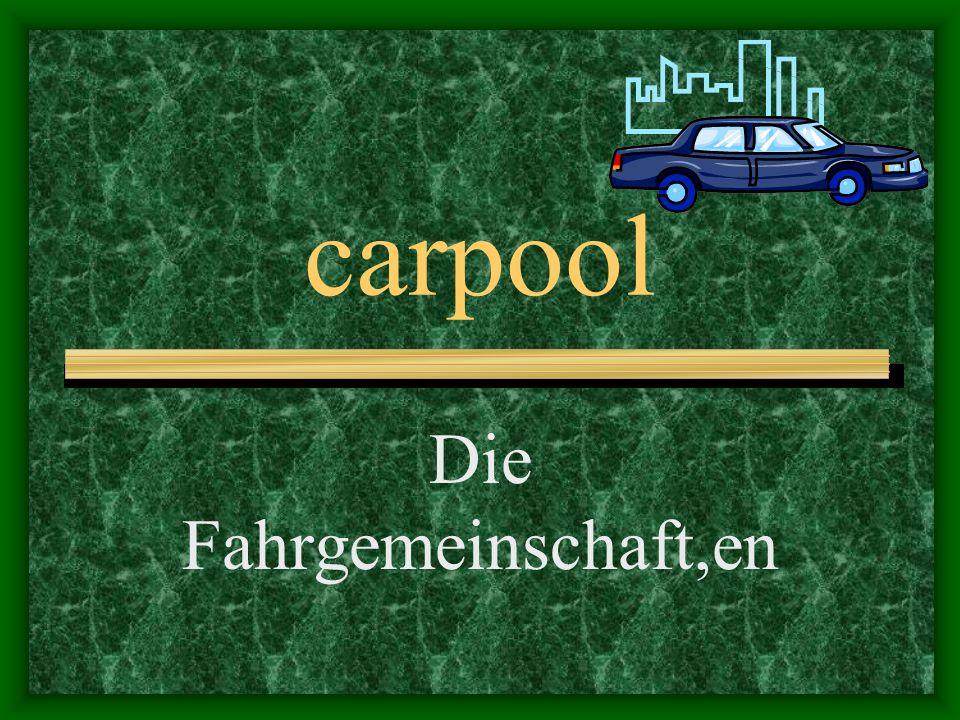 carpool Die Fahrgemeinschaft,en