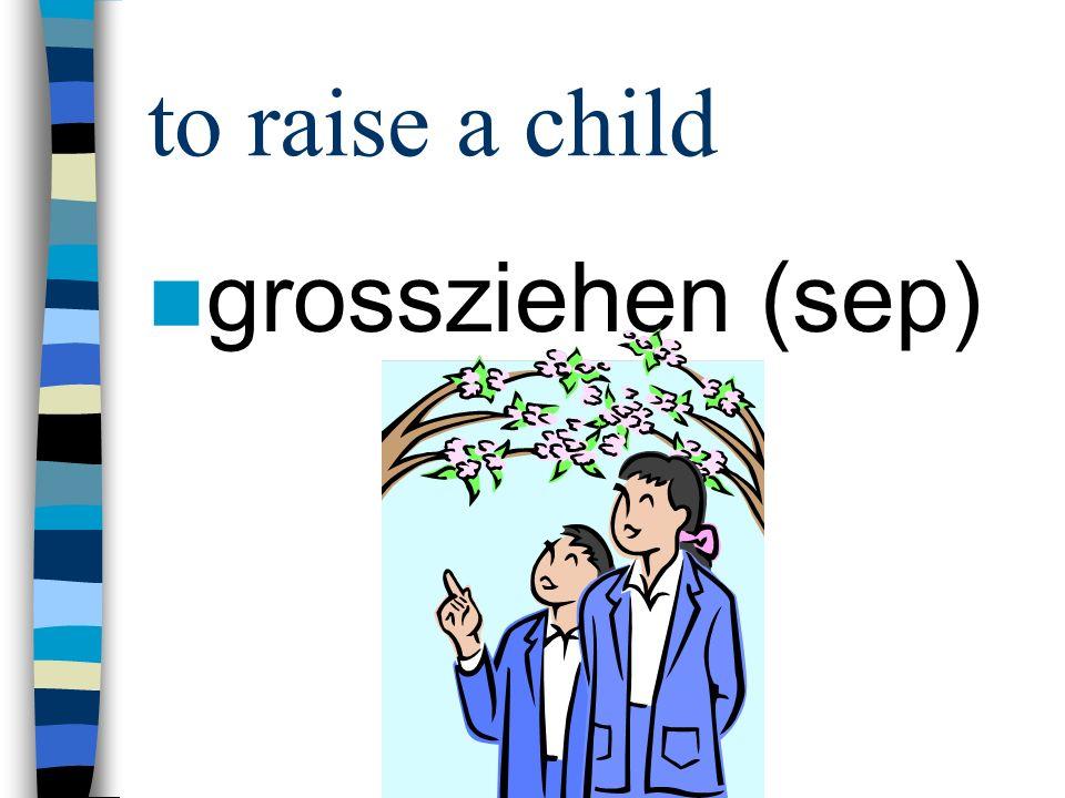 to get used to s. gewöhnen an (akk)