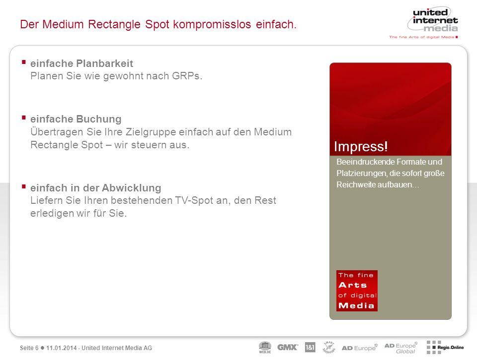 Qualität in der Reichweite.Medium Rectangle Spot Reichweitenstark auf GMX Österreich.