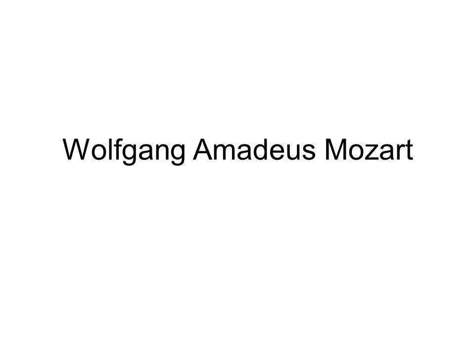 Er ist /wurde/ am 27.1.1756 in Salzburg geboren.Er selbst nannte sich meist Wolfgang Amadé Mozart.