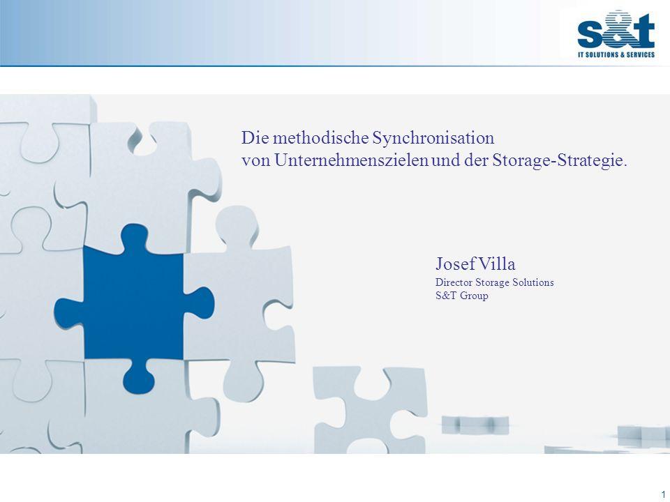 Die Aufgabenstellung 2 Das Angebot von Storage-Plattformen ist differenzierter geworden.