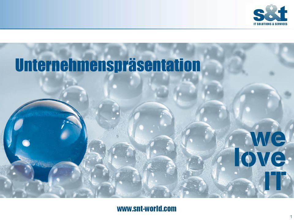 S&T Vision 2010+ 2 Unsere Spitzenposition in den Bereichen IT-Beratung, -Lösungen und -Services in Mittel- und Osteuropa, der DACH-Region sowie in Asien werden wir weiter ausbauen und internationale und regionale Kunden betreuen.
