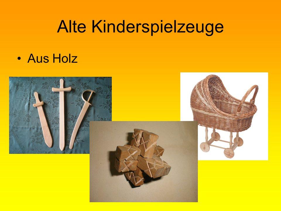 Alte Kinderspielzeuge Aus Holz