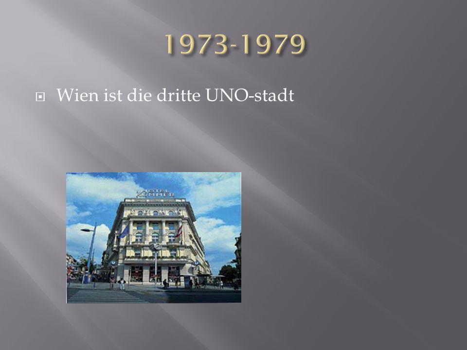Wien ist die dritte UNO-stadt