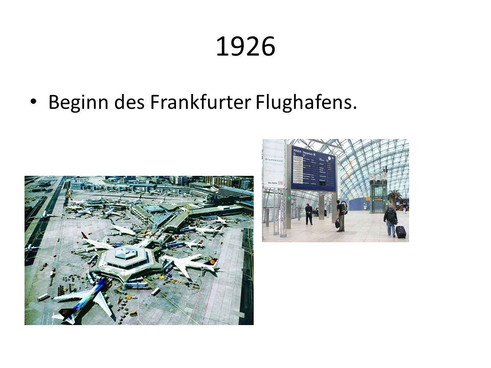 1943-1944 Die Innenstadtwird Luftangriffe fastganz zerstört.