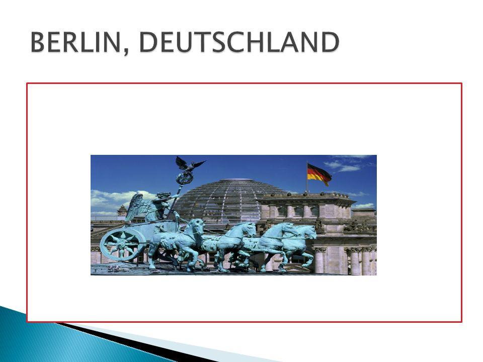 Das Bundesland Berlin, Hauptstadt Deutschlands, liegt im Nord-Osten auf der Spree.