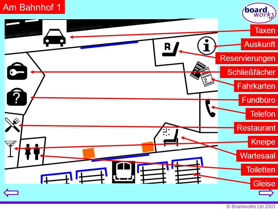 © Boardworks Ltd 2003 Welche Verkehrsmittel gibt es in deiner Stadt? 2