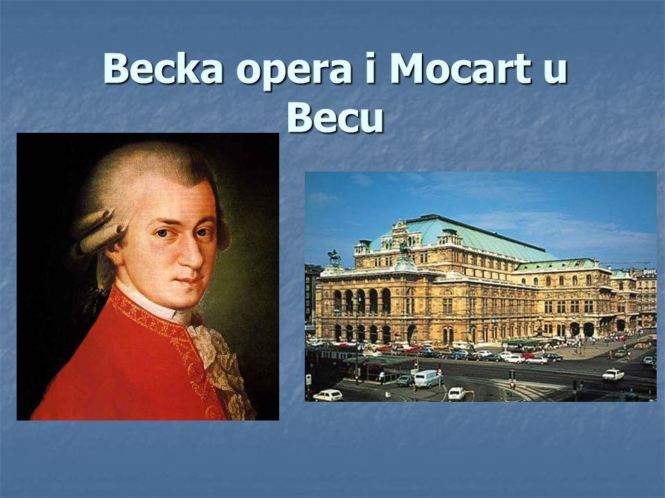 Becka opera i Mocart u Becu