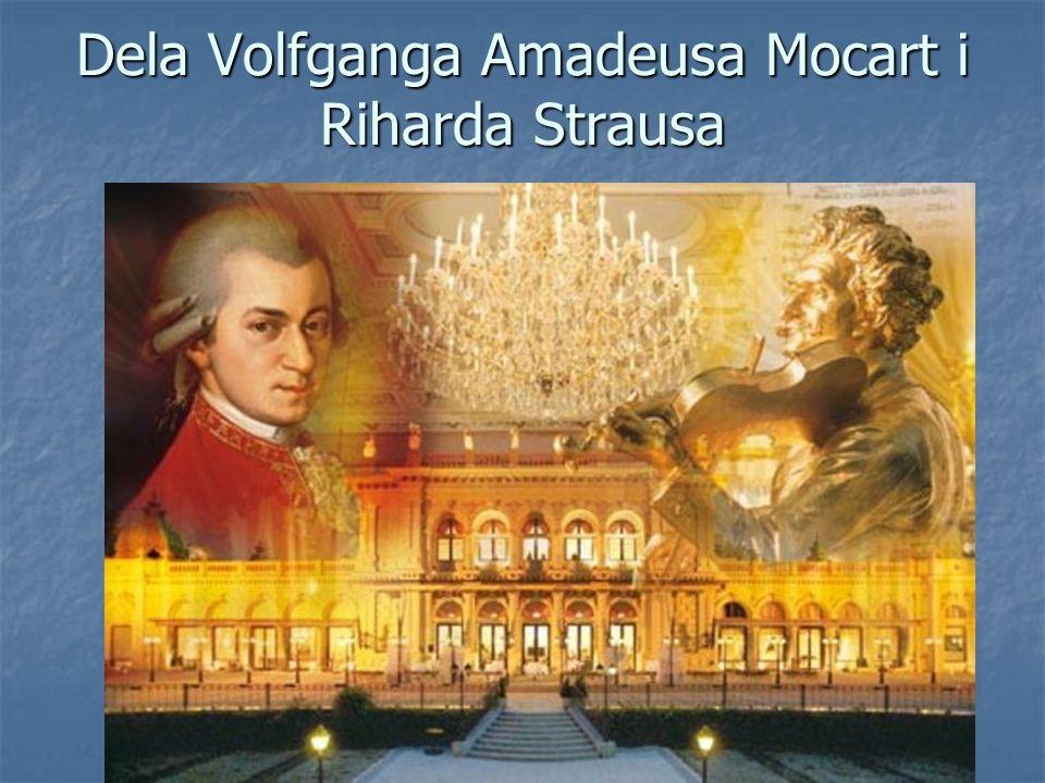 Dela Volfganga Amadeusa Mocart i Riharda Strausa