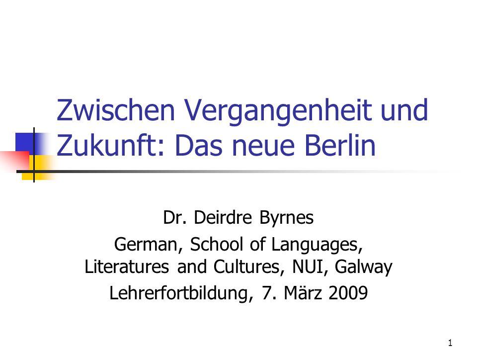 2 Struktur des Seminars Brainstorming Berlin als Erinnerungsort Berlin als zukunftsorientierte Hauptstadt Materialien zu Berlin Unterrichtsvorschläge und Arbeitsblätter