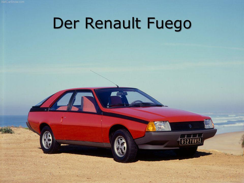 Der Renault Fuego