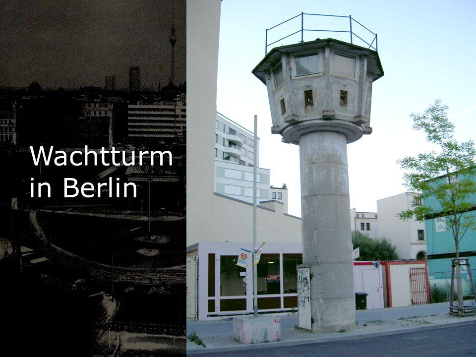 Wachtturm in Berlin