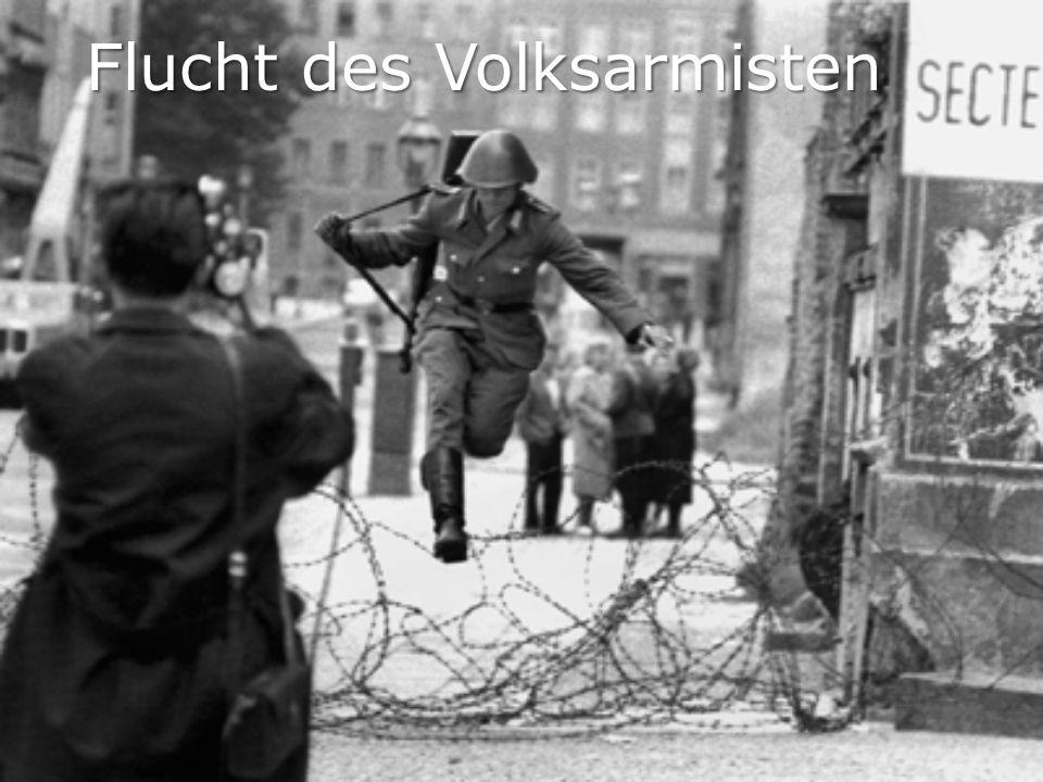 Flucht des Volksarmisten