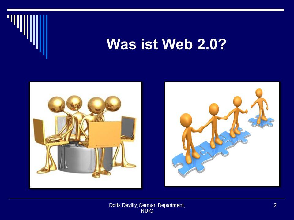 Was ist Web 2.0.