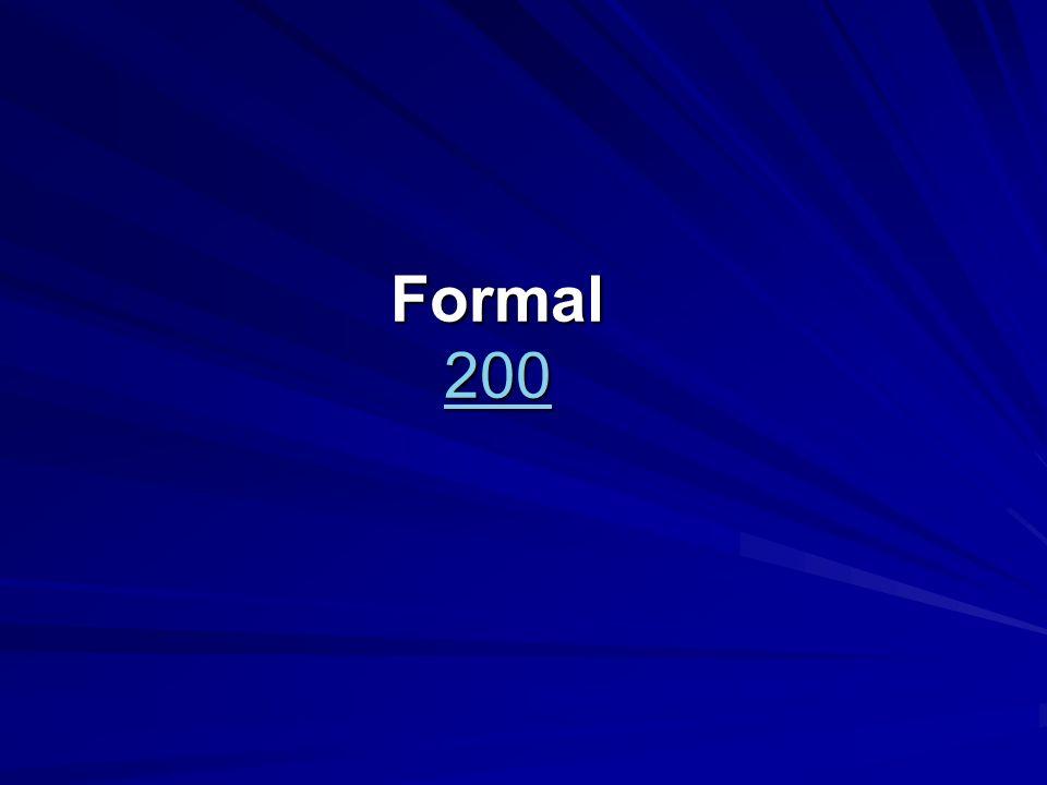 Formal 200 200