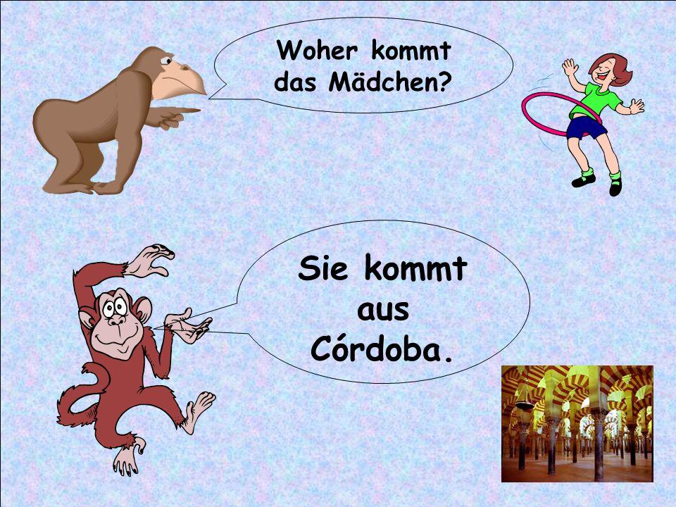 Woher kommen die Kinder? Sie kommen aus Wien.