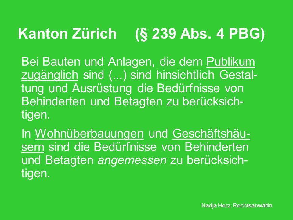 Nadja Herz, Rechtsanwältin Kanton Zürich (§ 239 Abs.