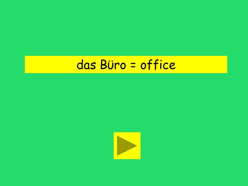 Ich denke, das Bϋro macht dich faul. dresser officesmell