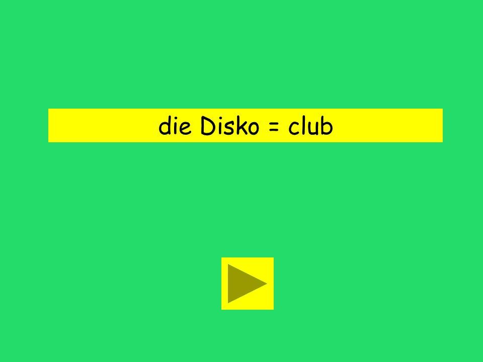 Morgen gehen wir in die Disko! club cd storefrisbee shop