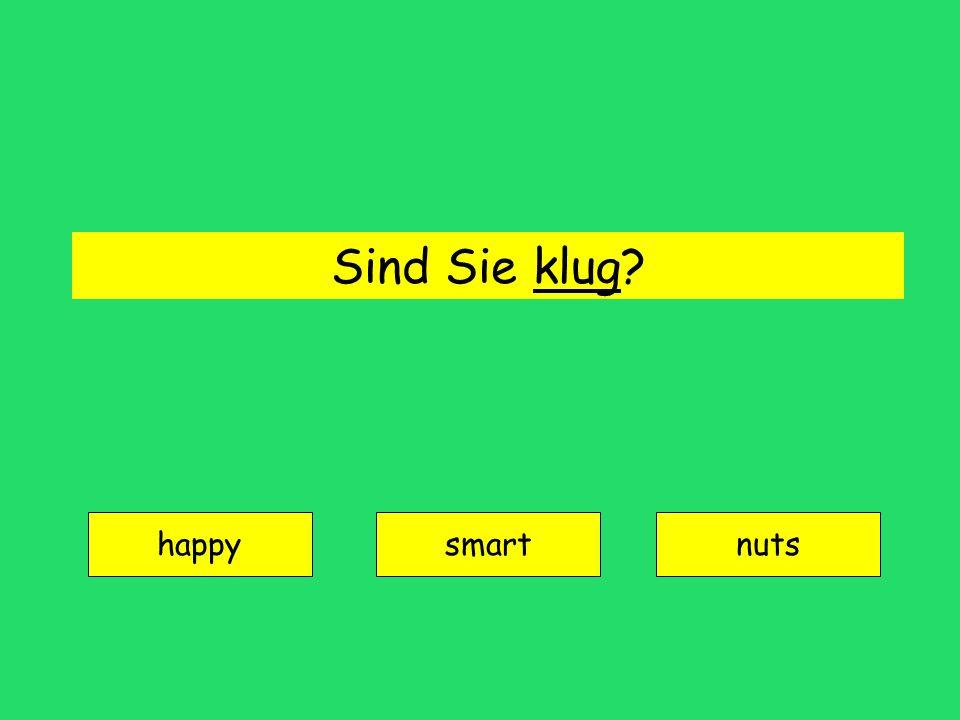 Sind Sie klug? happy smartnuts