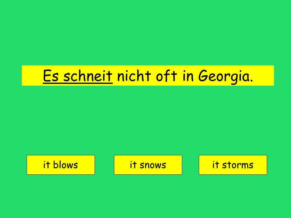 es regnet = it rains