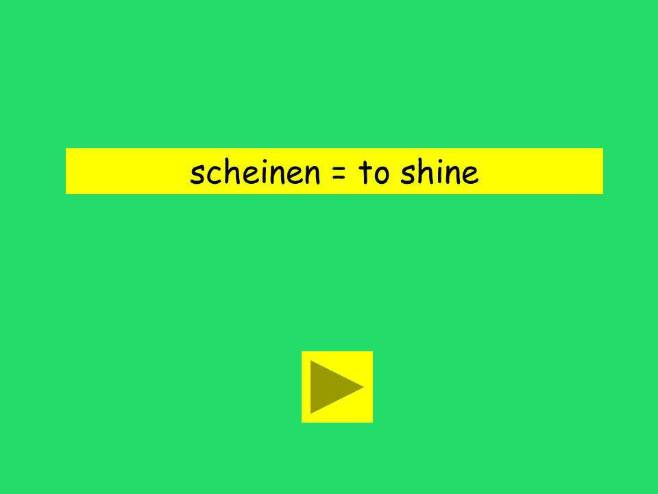 Die Sonne scheint heute! is yellow is hotshines