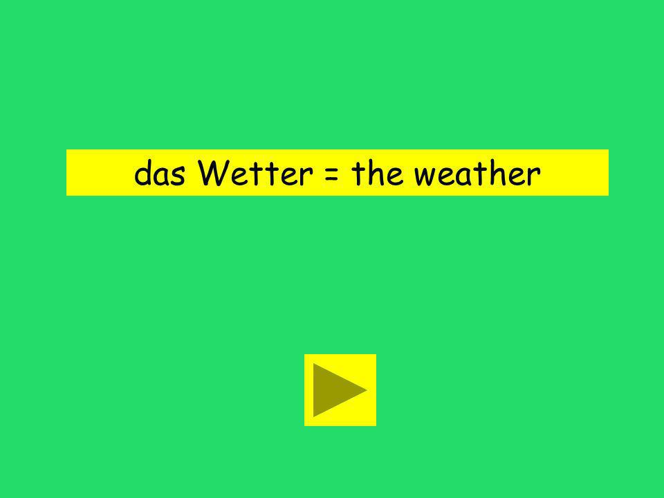 Wie ist das Wetter in Berlin? the lottery the weatherthe food
