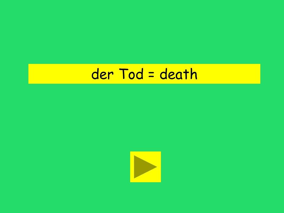 Bald danach kam der Tod. Todd deathBarney