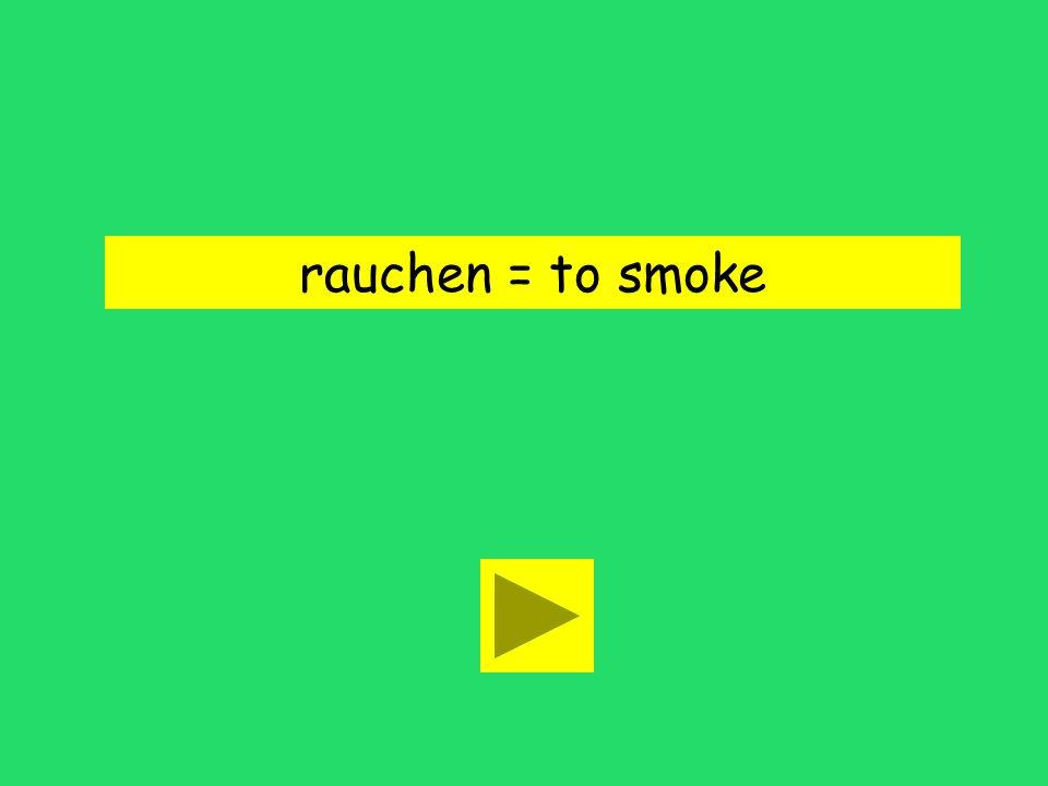 Biff raucht nicht. run smokejokes