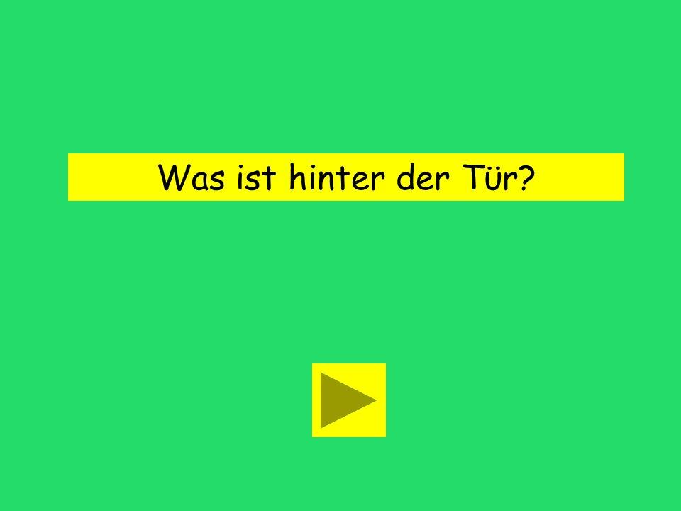 Was ist hinter ____ Tϋr? dem derden